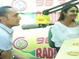 Rahul Bose & Shefali Mehta Giving Interview For Radio Mirchi