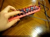 Ribbed Stitch On A Long Loom - Casting Off