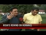 Rishi Kapoor&#039 S Rewind On Romance In Kashmir