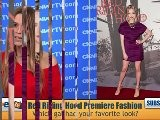 Red Riding Hood Premiere Fashion Recap