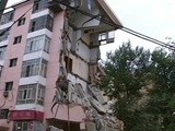 Six-Story Apartment Building Collapses In Harbin, Northeast China
