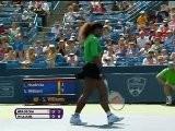 Serena Asfalta Hradecka - Cincinnati, Primo Turno