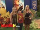 Stefanie Scott - Aedin Mincks - Alexandria Deberry - Jake Short At The Lion King 3D Premiere