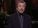 Saturday Night Live Robert DeNiro Monologue