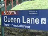 Septa Queen Lane Station Restored