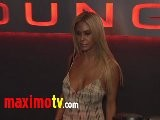 Shauna Sand At Bye Bye Bin Laden Premiere