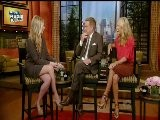 Sarah Michelle Gellar On Regis & Kelly Video - Part 1 - Sept 2011