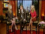Sarah Michelle Gellar On Regis & Kelly Video - Part 2 - Sept 2011