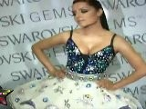 Super Hot Celina Jaitley Poses In Her Sexy Western Out Fit At Swarovski Gems Fashion Show