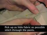 Sew Easy: How To Hem Pants