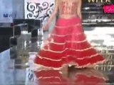 Seductive Babe Shakes Her Sxey Booty At Indian Bridal Fashion Week