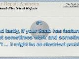 Saab Electrical Repair Anaheim - Saab Check Engine Light Repairs