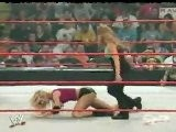Stacy Keibler And Nidia Vs Gail Kim And Molly Holly RAW 6.14.2004