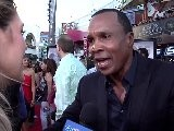 Sugar Ray Leonard -- &#039 Real Steel&#039 Premiere