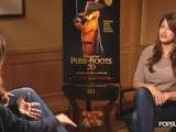 Salma Hayek And Antonio Banderas Explain Their Chemistry As Animated Characters In Puss In Boots