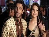 Band Baaja Baraat&#039 S Anushka - Ranveer Host Wedding Reception - Bollywood News