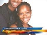 Teen Walking To School Bus Held At Gunpoint