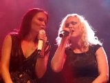 Tarja Turunen & Liv Kristine - Don&#039 T Give Up Live 2011