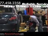 Toyota Glass Repair Service Shop Near Washington DC