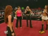 Trish Stratus, Molly Holly, Gail Kim, Christy Hemme And Carmella Segment RAW 9.27.2004