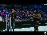 Wrestling Football : WWE Smackdown 9 09 2011 : Mark Henry Vs. Ezekiel Jackson