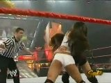 Trish Stratus And Gail Kim Vs Victoria And Nidia RAW 8.30.2004
