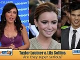 Taylor Lautner & Lily Collins Relationship Update