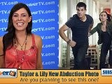 Taylor Lautner And Lily Collins New Abduction Movie Photo
