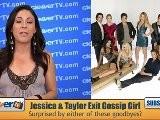 Taylor Momsen & Jessica Szohr Leaving &#039 Gossip Girl&#039