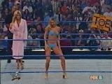 Torrie Wilson Vs Stacy Keibler Bikini Contest Smackdown 10.4.2001