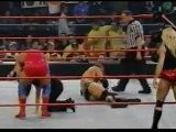 Triple H & Stephanie McMahon Vs Kurt Angle & Trish Stratus 1-22-2001