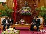 Thủ Tướng Nguyễn Tấn Dũng Tiếp Bộ Trưởng Bộ Ngoại Giao Ấn Độ