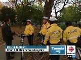 Toronto&#039 S Police Force Has Submitted A New Budget Proposal. Jamie Strashin Reports