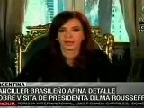 Ultiman Detalles Para Reuni&oacute N Entre Cristina Fern&aacute Ndez Y D