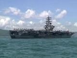USS Ronald Reagan Docks In Hong Kong