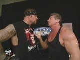 Undertaker, Sable, The Boss, Funaki And Kurt Angle Segment Smackdown 8.7.2003
