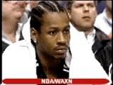 NBA Basketball - Allen Iverson Action
