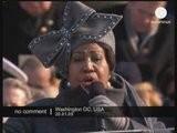 Aretha Franklin Chante à L' Investiture D' Obama