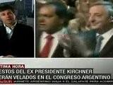 Velar&aacute N Restos De N&eacute Stor Kirchner En El Congreso Argentino