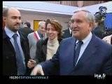Visite De Jean Pierre Raffarin Dans L' Aisne