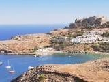 Visit The Lindos Castle In Rhodes, Greece