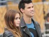 Video: Taylor Lautner Gushes About Lily Collins And Channels Tom Cruise