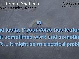 Volvo Electrical Repair Anaheim | Volvo Check Engine Light Repairs