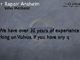 Volvo Mechanic Anaheim | Volvo XC90 Repair Shop Anaheim