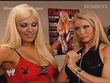 Wwe Sable Takes Off Top For Torrie Wilson