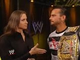 WWE SummerSlam 2011 CM Punk, Stephanie McMahon, John Laurinaitis Segment HD