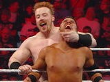 WWE Monday Night Raw WWE Hall Of Famer Jerry The King Lawler & Sheamus Vs. David Otunga & Michael McGillicutty