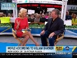 William Shatner Promotes His New Album & Book On GMA