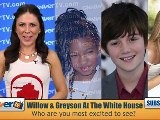 Willow Smith & Greyson Chance Among Performers At Annual White House Easter Egg Roll