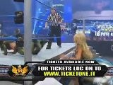 WWE Smackdown 03-18-11 Layla Vs Kelly Kelly Michelle Mccool At Ringside